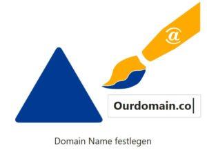 Domain Name festlegen