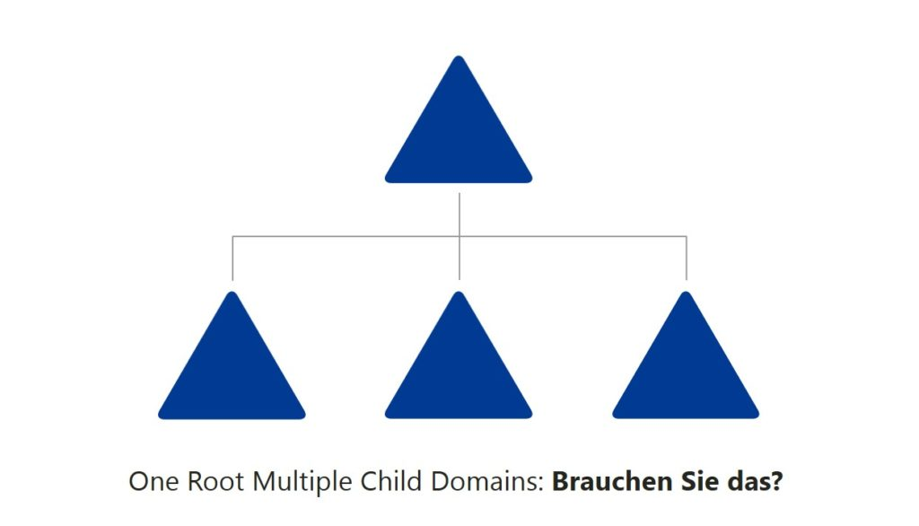 One Root Multiple Child Domains