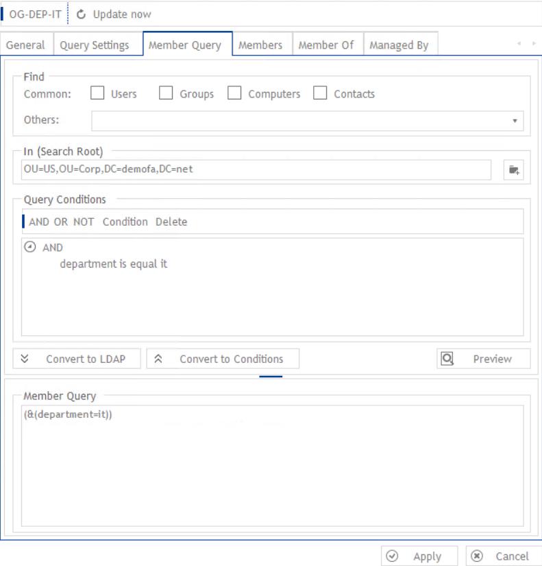 dynamicgroup ldap filter