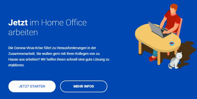 Dienstleister für Home Office