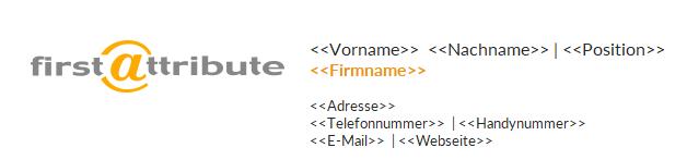 Automatische E-Mail Signatur für O365 und G Suite mit Template