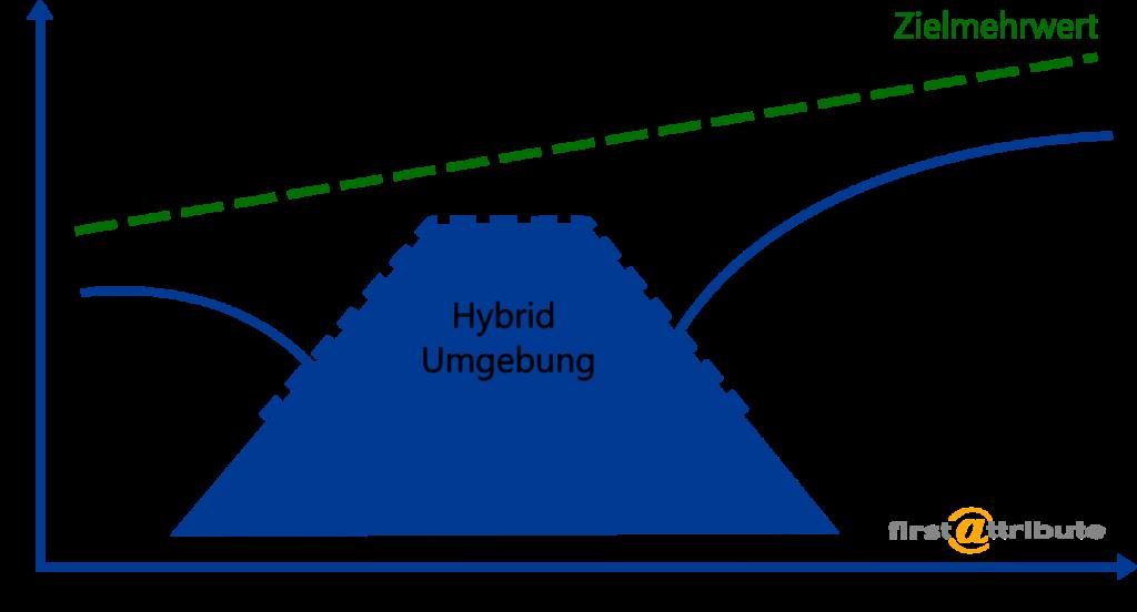 Hybride Umgebungen - Zielmehrwerte